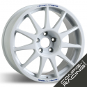 "Jante Speedline Turini Type 2120 Mistubishi Lancer Groupe N Evo 5/6/7/8/9/10 8x18"" - Blanc"