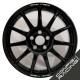 "Jante Speedline Turini Type 2120 Mistubishi Lancer Groupe N Evo 5/6/7/8/9/10 8x18"" - Noir brillant"
