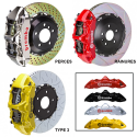 Kit BREMBO Grand Turismo Audi RS3 (8V) Avant : 380x34