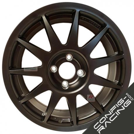 "Jante Speedline Turini Type 2120 Mistubishi Lancer Groupe N Evo 5/6/7/8/9/10 - 8x18"" - Noir matt"