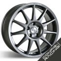 """Jante Speedline Turini Type 2120 VW Polo R5 - 8x18"""" - 5x130 - Anthracite"""