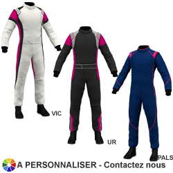 Combinaison Marina FIA Elast1 Ladies (3 styles à personnaliser)