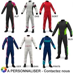 Combinaison Marina FIA Air Ladies (3 styles à personnaliser)
