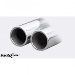 Sortie sans silencieux Inoxcar Abarth 124 - 2 x90