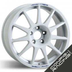 "Jante Speedline Turini Type 2120 Peugeot 306 Maxi 8x18"" - Blanc"