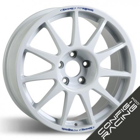 "Jante Speedline Turini Type 2120 Citroen / Peugeot 6.5x15"" - ET16 - Blanc"