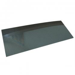 Plaque de carbone - 2.5mm d'épaisseur - 150x100