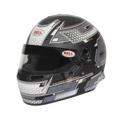 Casque BELL FIA RS7 - Gris Stamina