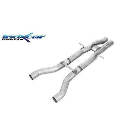 Tube Interm?diaire inox INOXCAR Audi RS6 (C6) 5.0 V10 - sans silencieux