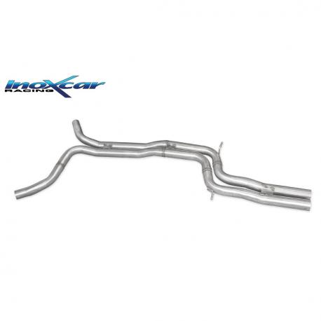 Tube Interm?diaire inox INOXCAR Audi RS6 (C7) 4.0 - sans silencieux