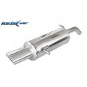 Silencieux Inox Inoxcar Citroen C2 VTS 1.6 16v (125cv) - sortie ovale 120x80mm