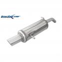 Silencieux Inox Inoxcar Citroen C2 VTS 1.6 16v - sortie 90 raly
