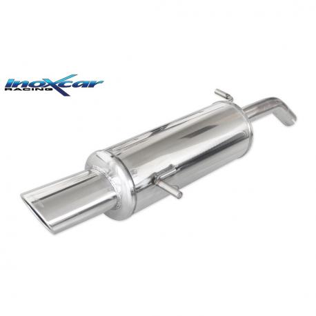 Silencieux Inox Inoxcar Citroen C2 1.4 VTR (75cv) - sortie ovale 120x80mm