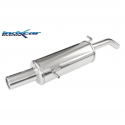 Silencieux Inox Inoxcar Citroen C3 1.6 16v (110cv) - sortie 80mm