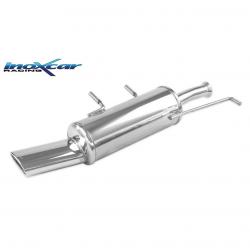 Silencieux Inox Inoxcar Citroen C4 1.6 16v - sortie ovale 120x80mm