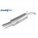 Silencieux Inox Inoxcar Citroen DS3 1.6 16v Turbo (155cv) - sortie ovale 120x80mm