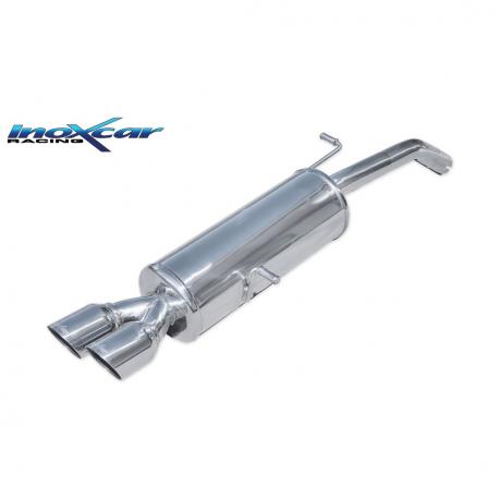 Silencieux Inox Inoxcar Citroen DS3 1.6 16v Turbo (155cv) - double sortie 80mm racing