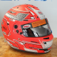 Casque BELL FIA RS7 - Rouge Stamina