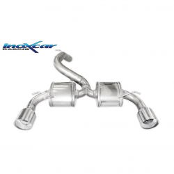 Silencieux Inox Inoxcar Ford Focus 3 RS - sortie droite et gauche Racing 114mm