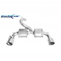 Silencieux ? valve Inoxcar Ford Focus 3 RS - sortie droite et gauche Racing 114mm
