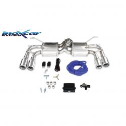 Silencieux à valve Inoxcar Abarth 124 - double sortie gauche et droite 90mm