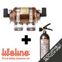Kit extincteur automatique Lifeline ZERO 275 FIA 8865-2015