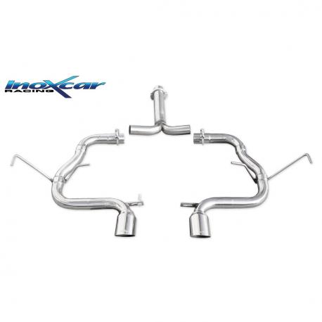 Tube arri?re Inoxcar Mini Cooper R53 1.6S 170cv