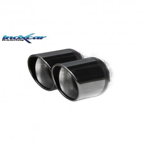 Silencieux Inox Inoxcar Mini Roadster R59 1.6 S Cooper et JCW - double sortie black 80mm