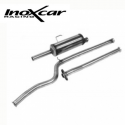 Ligne échappement Groupe A Inoxcar Peugeot 106 1.6 16S (phase 2)