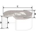 Filtres ITG Megaflow JC 20 standard