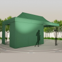 Tente LPTENT - 3x6m - avec/sans cotés