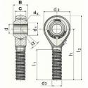 Rotules UNIBAL SMGM/SMLGM - série 52