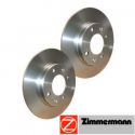Disques Zimmermann Groupe N Renault Clio 2 1,6 8/16v - avec ABS
