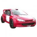 Kit carrosserie complet - Peugeot 206 F2000 Large