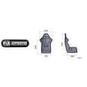 Baquet OMP FIA TRS - Taille XL