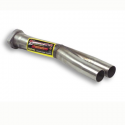 Tube arrière Inox Supersprint - BMW E36 320i 24v - 92-94 - Racing