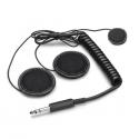 Micro + Ecouteurs SPARCO - pour casque intégral pour radio IS-110