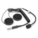 Micro + Ecouteurs SPARCO - pour casque jet pour radio IS-110