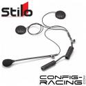 Micro + écouteurs casque STILO Jet ou Intégral - pour radio WRC