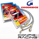 Durites Aviation Goodridge (Av / Ar) Peugeot 205 GTI (avec ABS)