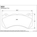 Plaquettes PAGID Nissan GTR R35