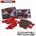 Plaquettes Ferodo DS Performance Ferrari F430 - disque acier