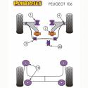 Silent blocs POWERFLEX Peugeot 106