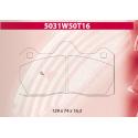 Plaquettes CARBONE LORRAINE - 5031W50T16