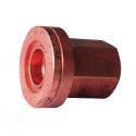 Ecrous cuivre - 12x125 - Plat