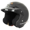 Casque Jet Turn One Jet-RS - FIA - HANS - Noir