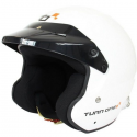 Casque Jet Turn One Jet-RS - FIA - HANS - Blanc