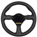 Volant MOMO 26 | 260mm cuir | plat
