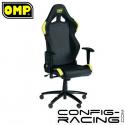 Siège de bureau OMP - Noir/jaune
