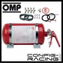 Kit extincteur automatique OMP 4.25L Mécanique Acier - Berline